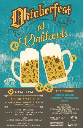 Oktoberfest at Oaklands!: Bučan Bučan, Victoria Accordion Club   @ Oaklands Community Association Oct 1 2016 - Jan 25th @ Oaklands Community Association