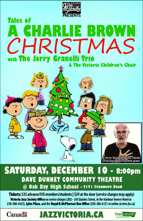 Tales of a Charlie Brown Christmas @ Oak Bay High Theatre Dec 10 2016 - Jan 25th @ Oak Bay High Theatre