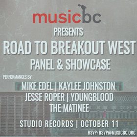 Jesse Roper, Mike Edel, Matinee @ Studio Records Oct 11 2016 - Oct 16th @ Studio Records