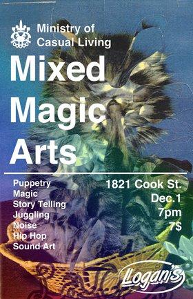 Ministry Mixed Magic Arts - Oct 17th @ Logan's Pub