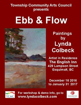 Artist in Residence: Lynda Colbeck @ English Inn Dec 16 2016 - Jan 21st @ English Inn