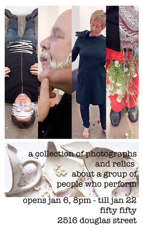 Open Action: A Collection of Photographs and Relics from People Who Perform: John G. Boehme , Doug Jarvis, Brenda Petays, Judith Price , Grace Salez - Sep 17th @ the fifty fifty arts collective