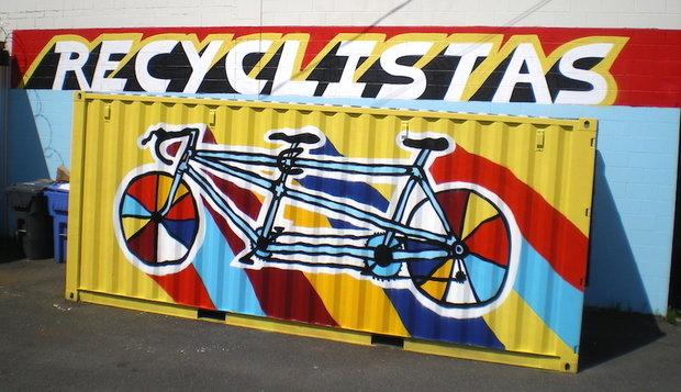 Recyclystas 2 by  Cameron Kidd