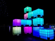 Think Cubes NYE 2017 by  Monkey C Interactive, Interarts