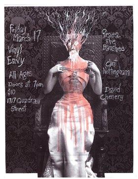 Clint Nottingham, David Chenery, FRAEA THE BANSHEE @ Vinyl Envy Mar 17 2017 - Sep 24th @ Vinyl Envy