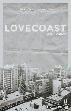 LOVECoast, Violet @ Vinyl Envy Mar 24 2017 - Sep 17th @ Vinyl Envy