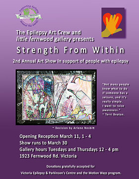 Strengh From Within @ Little Fernwood Gallery Mar 14 2017 - Mar 4th @ Little Fernwood Gallery