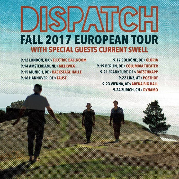 Europe tour with Dispatch!!!