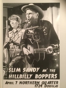 Slim Sandy and the Hillbilly Boppers: Slim Sandy and the Hillbilly Boppers @ Northern Quarter Apr 7 2017 - Dec 8th @ Northern Quarter