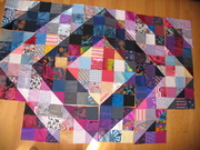 Playing with layout of blocks by  Lindsay Beal