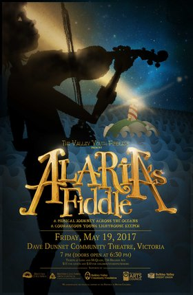 Alaria's Fiddle: Valley Youth Fiddlers @ Dave Dunnet Community Theatre (Oak Bay High School) May 19 2017 - Feb 26th @ Dave Dunnet Community Theatre (Oak Bay High School)