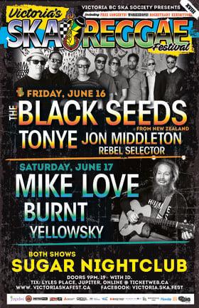THE BLACK SEEDS with Tonye & Jon Middleton at VICTORIA SKA & REGGAE FEST XVIII (19yrs+): The Black Seeds, Tonye, Jon Middleton, Rebel Selector @ Capital Ballroom Jun 16 2017 - Sep 26th @ Capital Ballroom