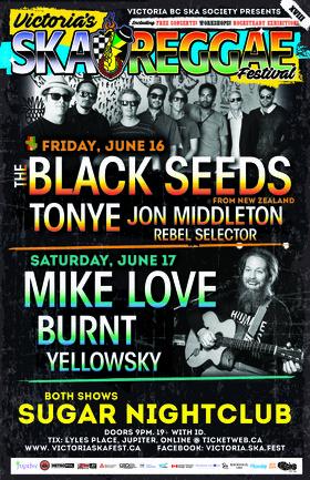 Mike Love, Burnt, Yellowsky @ Capital Ballroom Jun 17 2017 - Sep 26th @ Capital Ballroom
