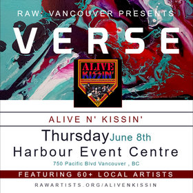 Alive n' Kissin', Fashion Models, Circus Performers, Visual Artists, Photo & Film, Hair & Makeup, And More @ Harbour Event Centre Jun 8 2017 - Jul 2nd @ Harbour Event Centre
