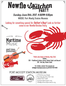 Newfie Kitchen Party: The Navvies @ Port Moody Station Museum Jun 18 2017 - Oct 22nd @ Port Moody Station Museum