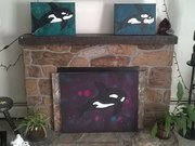 Abstract Orca Collection by  Dana Markestein