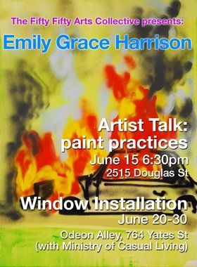 Emily Grace Harrison: Odeon Alley Window Gallery: Emily Grace Harrison - Sep 17th @ the fifty fifty arts collective