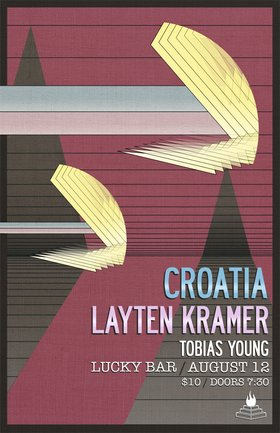 INDIE NIGHT!!: CROATIA, Layton Kramer, Tobias Young @ Lucky Bar Aug 12 2017 - Oct 16th @ Lucky Bar
