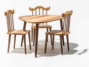 Little Foragers Table and Chairs by  Happy Deer Design