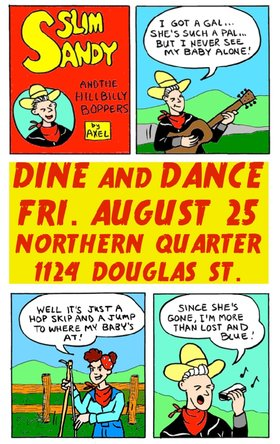 Slim Sandy and the Hillbilly Boppers @ Northern Quarter Aug 25 2017 - Dec 8th @ Northern Quarter