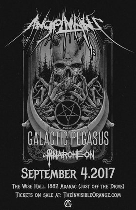 Angelmaker, Galactic Pegasus, anarcheon @ WISE Hall Sep 4 2017 - Dec 10th @ WISE Hall