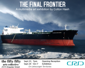 The Final Frontier: Colton Hash - Sep 17th @ the fifty fifty arts collective
