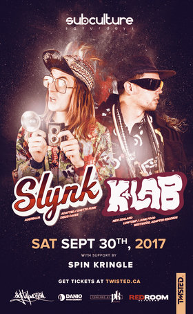 SLYNK, K+Lab @ The Red Room Sep 30 2017 - May 22nd @ The Red Room