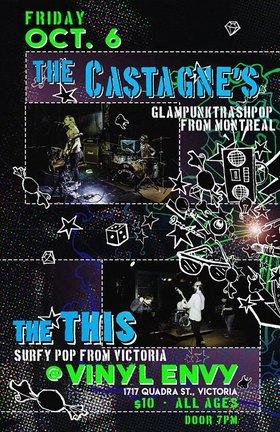 The Castagne's, The This @ Vinyl Envy Oct 6 2017 - Oct 20th @ Vinyl Envy