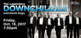 The Legendary Downchild Blues Band with special guest David Gogo: David Gogo @ Cowichan Performing Arts Centre Oct 13 2017 - Oct 27th @ Cowichan Performing Arts Centre