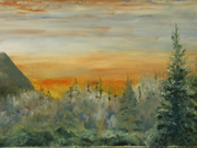 Cowichan Sunrise by  Loretta Puckrin