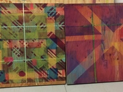 Colour Squared (diptych) by  Lisa Jackson