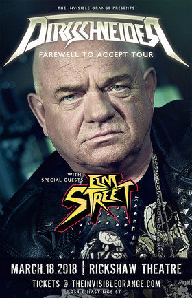 DIRKSCHNEIDER , Elm Street @ Rickshaw Theatre Mar 18 2018 - Feb 20th @ Rickshaw Theatre
