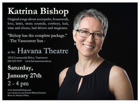 Katrina Bishop - OddSongs: Katrina Bishop @ Havana Jan 27 2018 - Jan 18th @ Havana