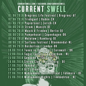 Current Swell @ Molotow Jun 7 2018 - Jun 16th @ Molotow