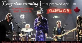Film: Long Time Running (National Canadian Film Day) @ Vancouver Island Regional Library (Cowichan Branch) Apr 16 2018 - Mar 19th @ Vancouver Island Regional Library (Cowichan Branch)