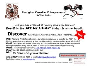 Aboriginal Canadian Entrepreneurs - For Artists