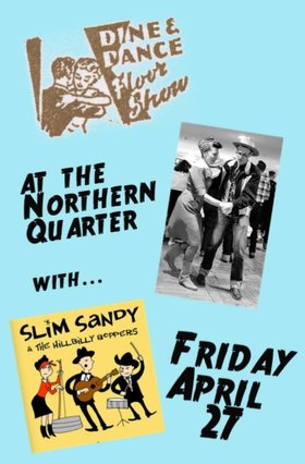 Slim Sandy and the Hillbilly Boppers @ Northern Quarter Apr 27 2018 - Dec 8th @ Northern Quarter