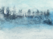 Mist in the Forest by  Wanda Fraser