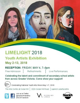 Limelight Youth Art Exhibition @ The Arts Centre at Cedar Hill  May 2 2018 - Jul 14th @ The Arts Centre at Cedar Hill