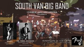 South Van Big Band, Ikuko, Dr. Greg Johnson @ Fairview Pub Jun 24 2018 - Nov 17th @ Fairview Pub