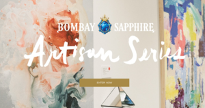 Call for Entry - Bombay Sapphire Artisan Series - Deadline July 11, 2018