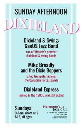 Dixieland Express @ Hermann's Jazz Club Jul 29 2018 - Oct 20th @ Hermann's Jazz Club