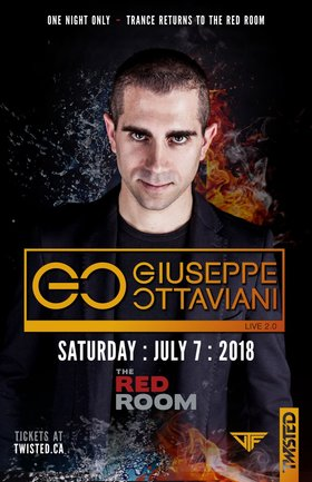 Giuseppe Ottaviani, Kirkpatrick , Delikatny, Zeroplayer @ The Red Room Jul 7 2018 - Mar 22nd @ The Red Room