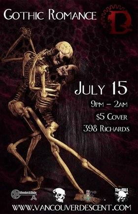 Descent Gothic Romance @ The Red Room Jul 15 2018 - Mar 22nd @ The Red Room