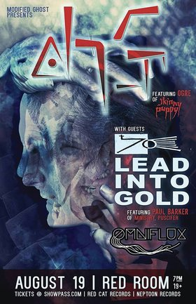 ohGr, Lead Into Gold, Omniflux , Guests @ The Red Room Aug 19 2018 - Mar 23rd @ The Red Room