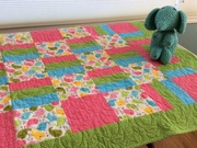 Baby Blanket - Pink by  Della Cronkrite