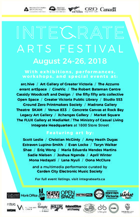 12th Annual Integrate Arts Festival @ 1800 Store Street Aug 24 2018 - Jan 22nd @ 1800 Store Street