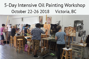OIL PAINTING WORKSHOP: OCTOBER 22-26 2018