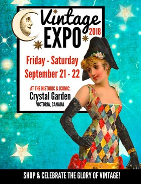 Giant VINTAGE EXPO 2018 @ Crystal Garden Sep 21 2018 - Sep 29th @ Crystal Garden