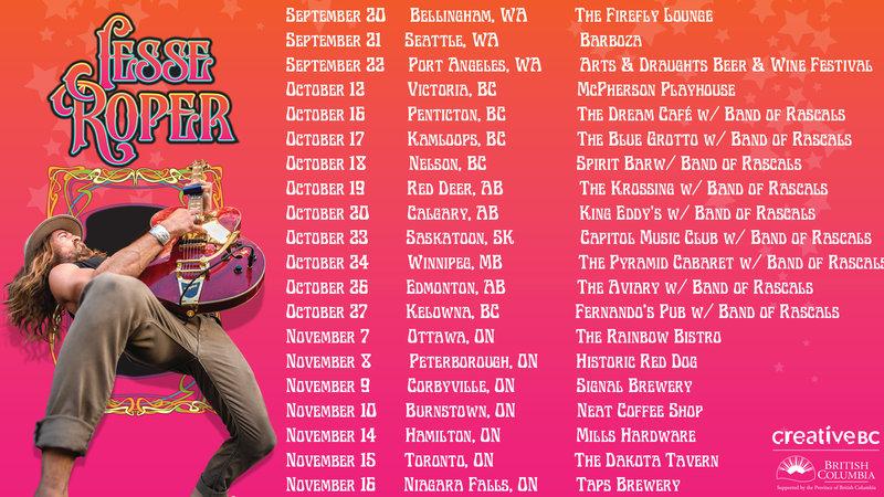 Fall Canadian Tour